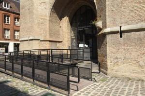 Office de Tourisme et des congrès de Dunkerque (rampe d'accès pour les PMR et boucle magnétique pour malentendants)