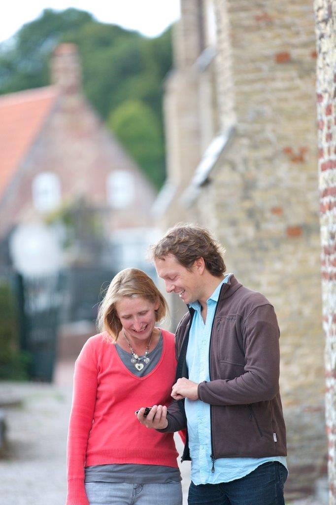 Les grandes évolutions : l'utilisation du mobile  Crédits photos Nord tourisme L.Ghesquiere